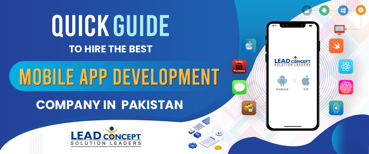 Best Mobile App Development Company in Pakistan - LEADconcept